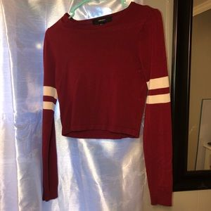 Cropped sweatshirt FOREVER 21